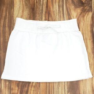 Juicy Couture White Drawstring Skirt